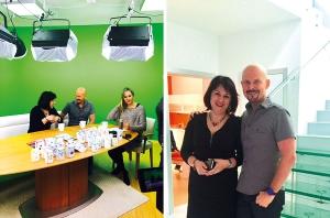 Rozhovor s Vladimírem Ďurinou a MUDr.  Lenkou Hodkovou